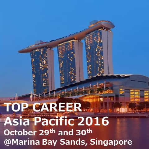 TOP CAREER Asia Pacific 2016