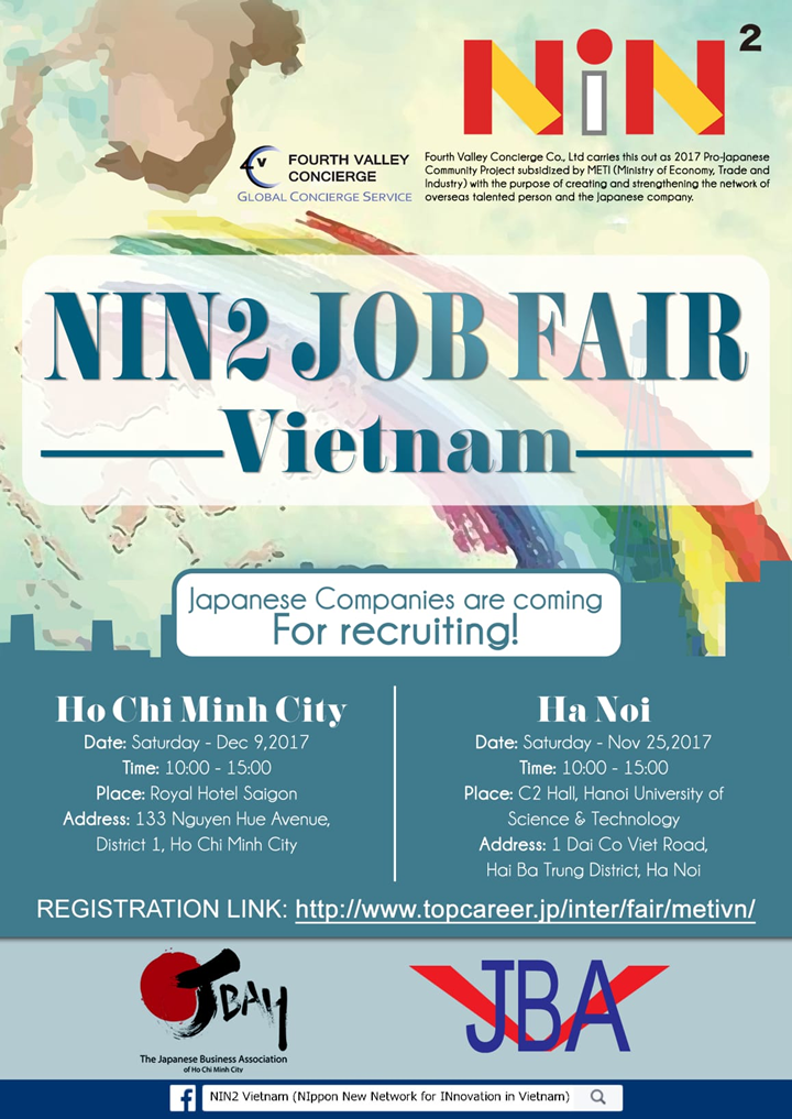 top career international career fair nin job fair in vietnam how to participate